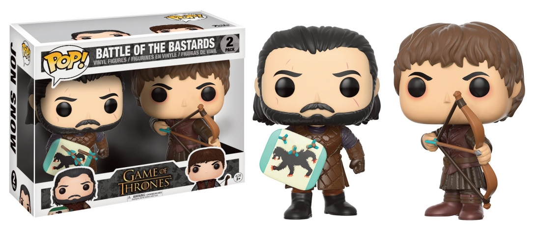 POP GAME OF THRONES Battle fo The Bastards (Pack 2)