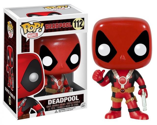 POP MARVEL #112 Deadpool Thumb Up