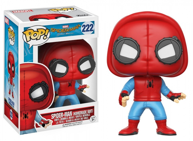 POP MARVEL #222 Spider-Man (Homemade Suit)