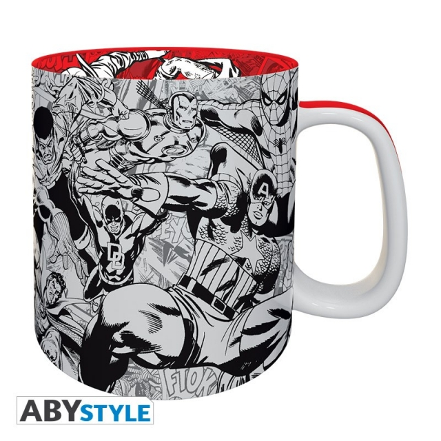 Caneca MARVEL Premium (460ml)