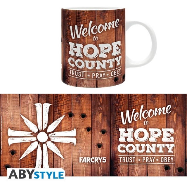 Caneca FAR CRY 5 Welcome to Hope County (320ml)