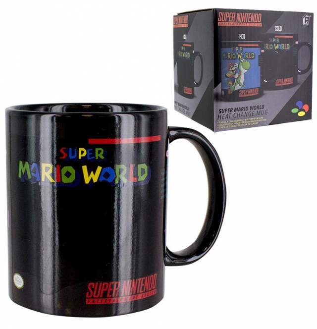 Caneca NINTENDO Super Mario World (Reage ao Calor)