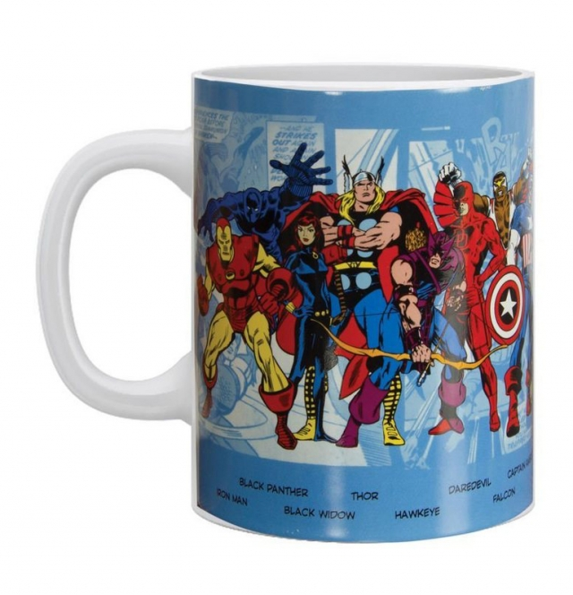 Caneca MARVEL Personagens (550ml)