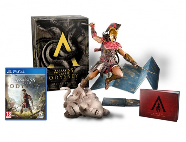 ASSASSINS CREED ODYSSEY Medusa Edition (EM PORTUGUÊS) PS4