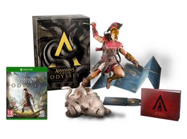 ASSASSINS CREED ODYSSEY Medusa Edition (EM PORTUGUÊS) XBOX ONE