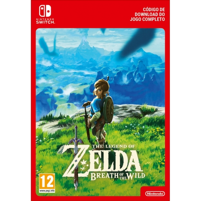 THE LEGEND OF ZELDA BREATH OF THE WILD (Nintendo Digital) Switch