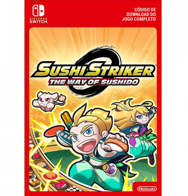 SUSHI STRIKER: THE WAY OF SUSHIDO (Nintendo Digital) Switch