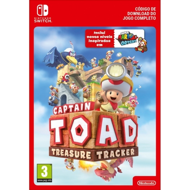CAPTAIN TOAD: TREASURE TREACKER (Nintendo Digital) Switch