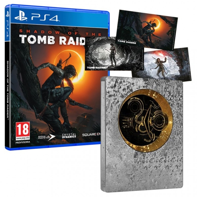 SHADOW OF THE TOMB RAIDER Steelbook Edition (Com Ofertas Reserva) PS4