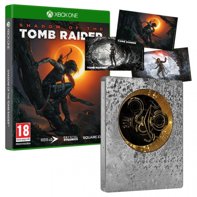 SHADOW OF THE TOMB RAIDER Steelbook Edition (Com Ofertas Reserva) XBOX ONE