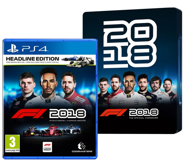 F1 2018 Steelbook Edition PS4