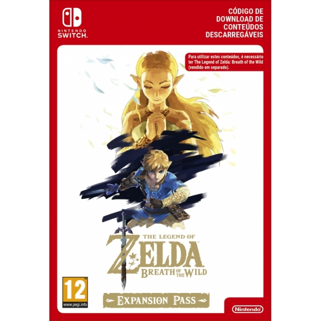 THE LEGEND OF ZELDA BREATH OF THE WILD Expansion Pass (Nintendo Digital) Switch