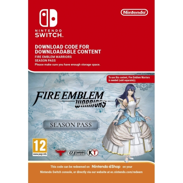 FIRE EMBLEM WARRIORS Season Pass (Nintendo Digital) Switch