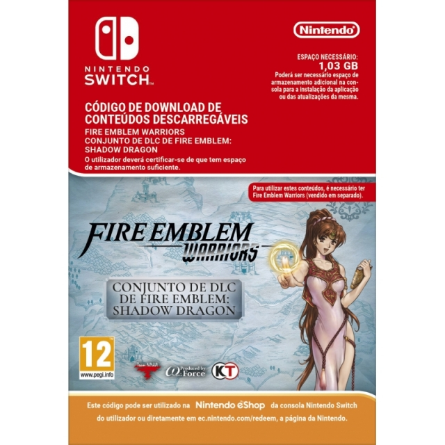 FIRE EMBLEM WARRIORS Shadow Dragon Pack (Nintendo Digital) Switch