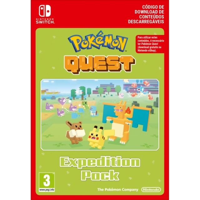 POKÉMON QUEST Expedition Pack (Nintendo Digital) Switch