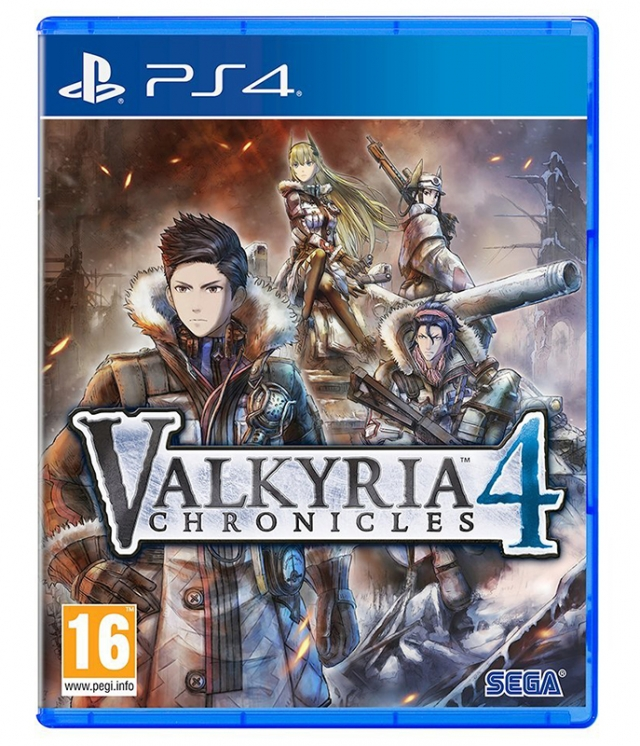 VALKYRIA CHRONICLES 4 Launch Edition PS4