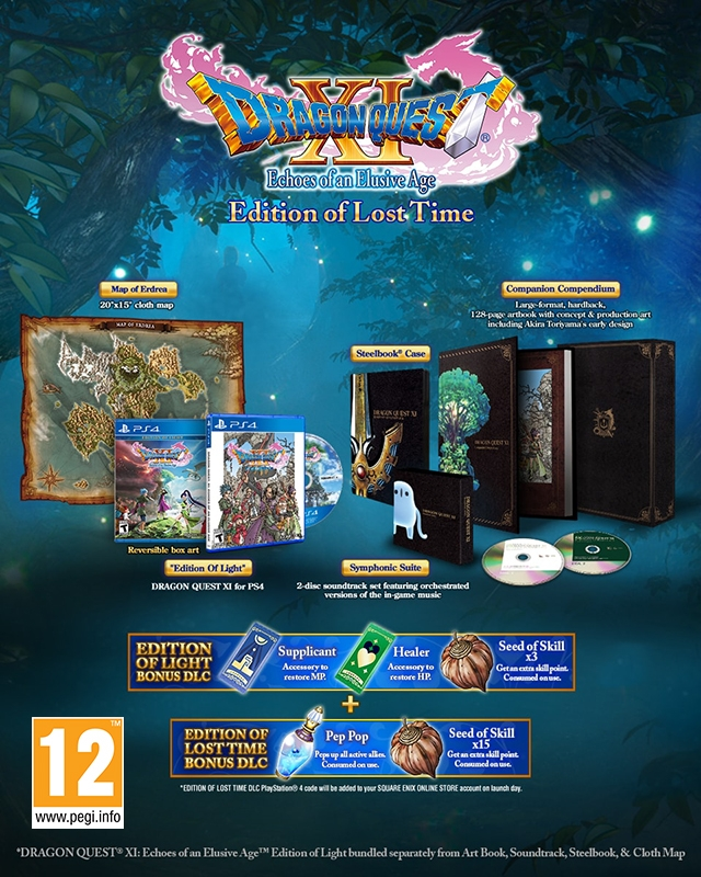 DRAGON QUEST XI ECHOES OF AN ELUSIVE AGE Edition of Lost Time PS4