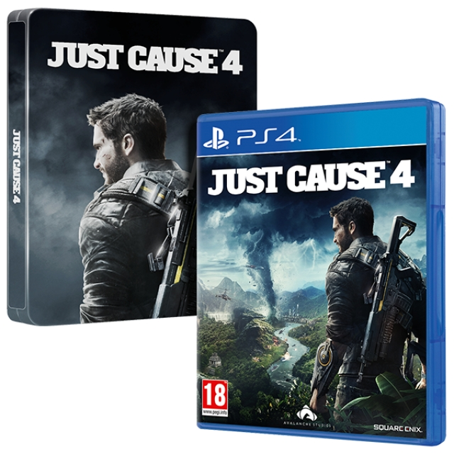 JUST CAUSE 4 (EM PORTUGUÊS) Oferta Steelbook e DLC PS4