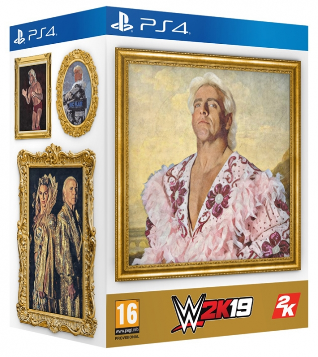 WWE 2K19 Collector's Edition PS4