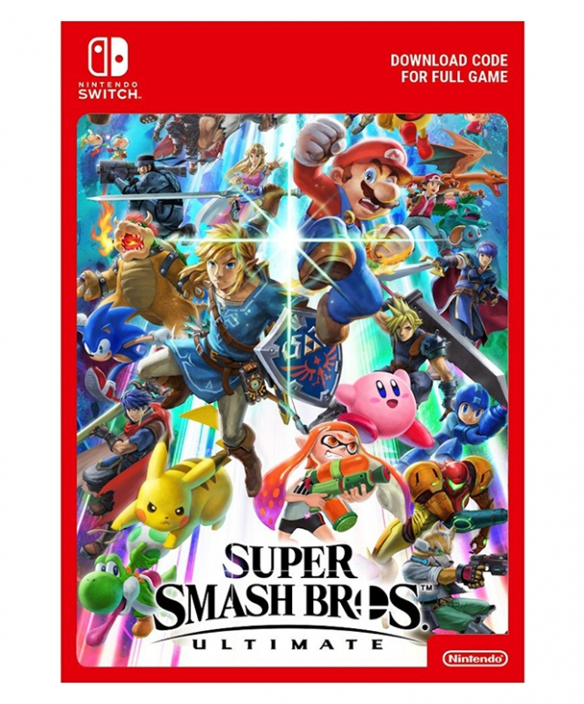 SUPER SMASH BROS. ULTIMATE (Nintendo Digital) Switch