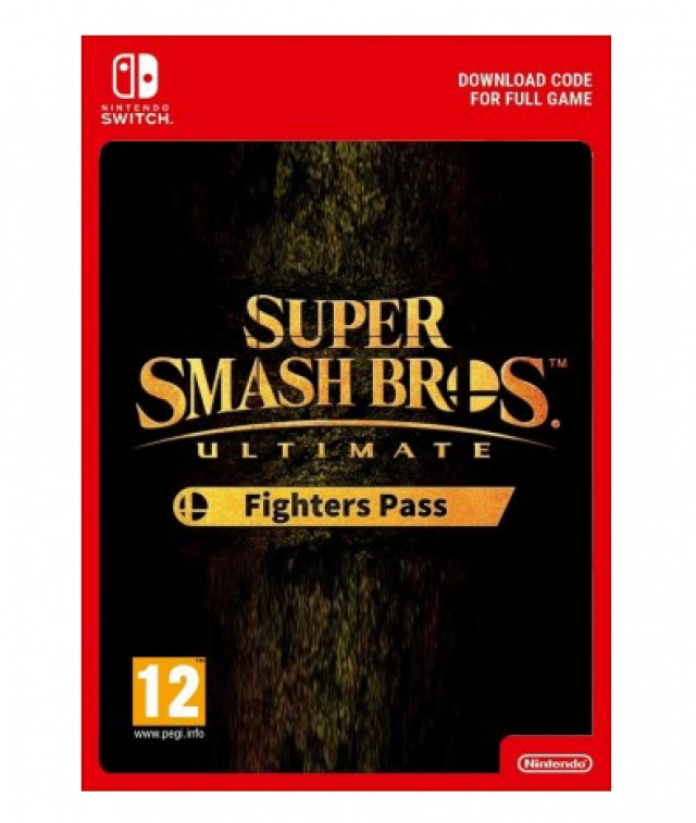 SUPER SMASH BROS. ULTIMATE Fighters Pass (Nintendo Digital) Switch