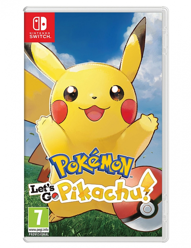 POKÉMON Let's Go Pikachu! Switch