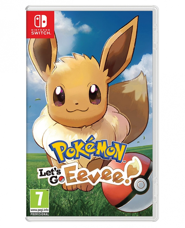 POKÉMON Let's Go Eevee! Switch