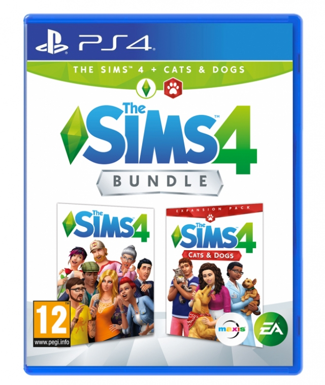 THE SIMS 4 + Expansão CATS & DOGS PS4