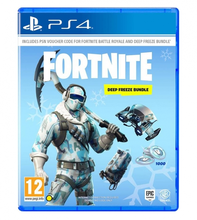 FORTNITE Deep Freeze Bundle (Download Digital) PS4