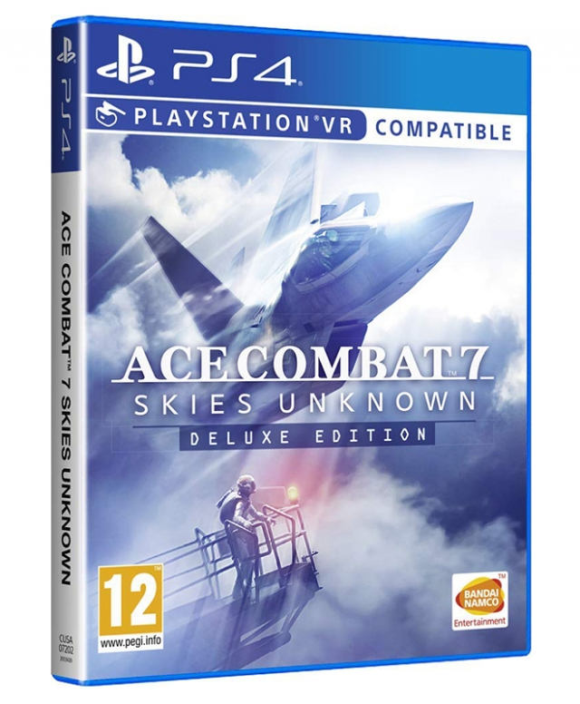 ACE COMBAT 7 SKIES UNKNOWN Deluxe Edition PS4