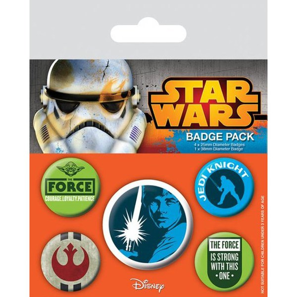 Pins STAR WARS Jedi Badge Pack (5 pins)