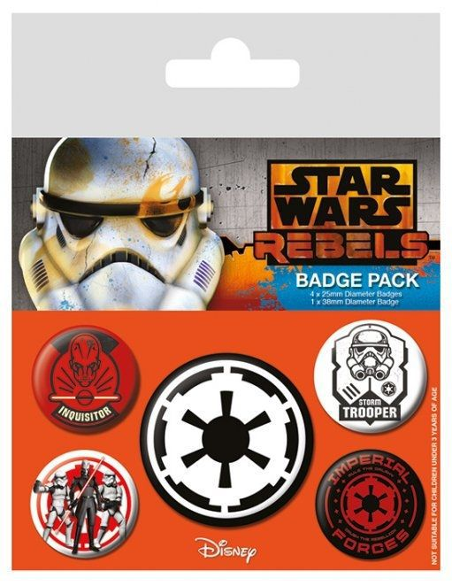 Pins STAR WARS Villains Badge Pack (5 pins)