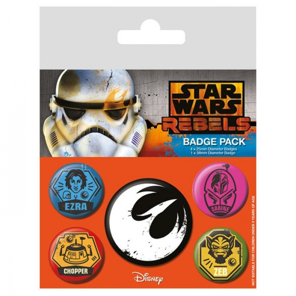 Pins STAR WARS Rebels Badge Pack (5 pins)