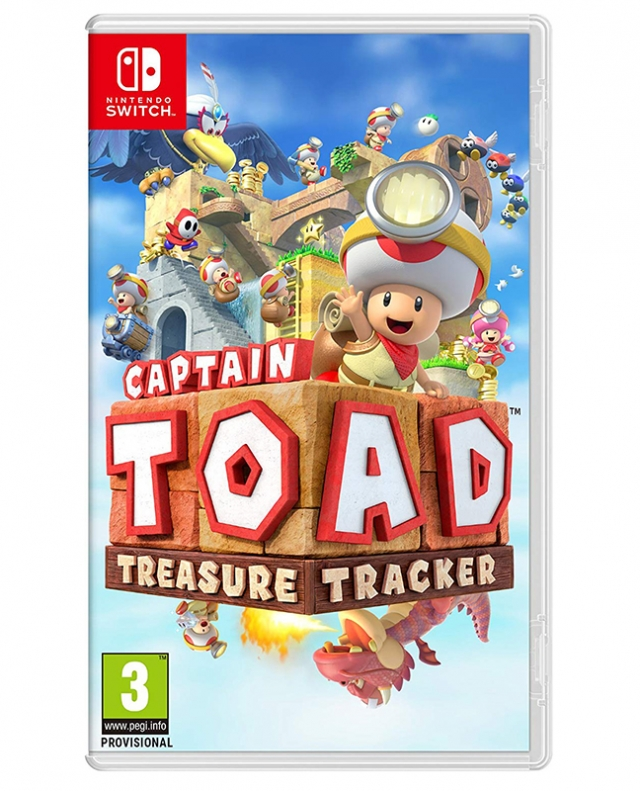 CAPTAIN TOAD: TREASURE TREACKER Switch