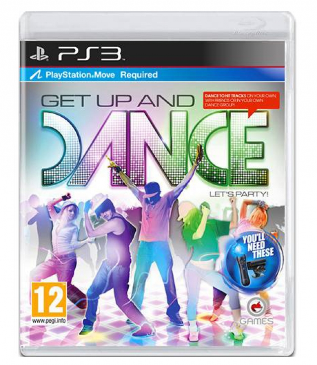 GET UP AND DANCE PS3