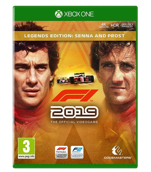 F1 2019 Legends Edition PS4 XBOX ONE