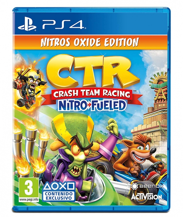 CRASH TEAM RACING Nitros Oxide Edition PS4