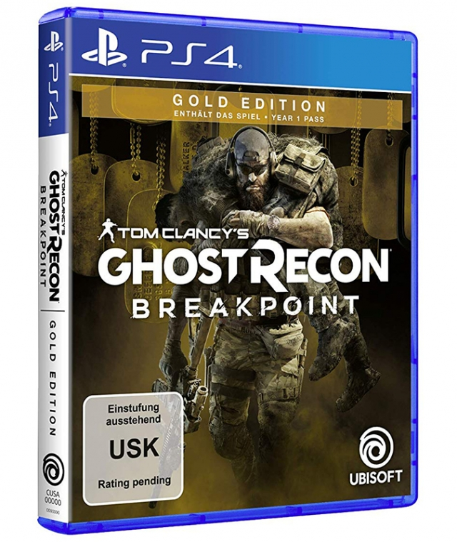 GHOST RECON BREAKPOINT Gold Edition PS4