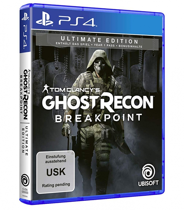 GHOST RECON BREAKPOINT Ultimate Edition PS4