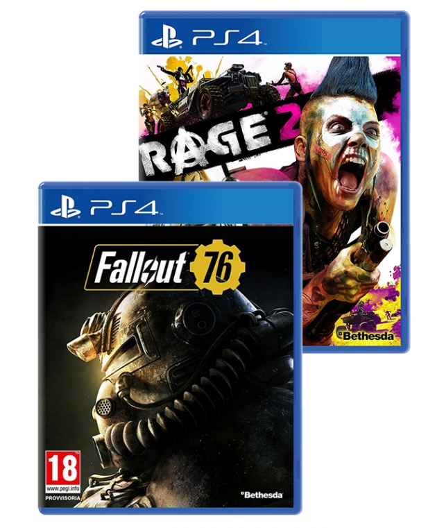 RAGE 2 + FALLOUT 76 PS4