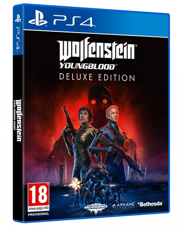 WOLFENSTEIN THE YOUNGBLOOD Deluxe Edition PS4