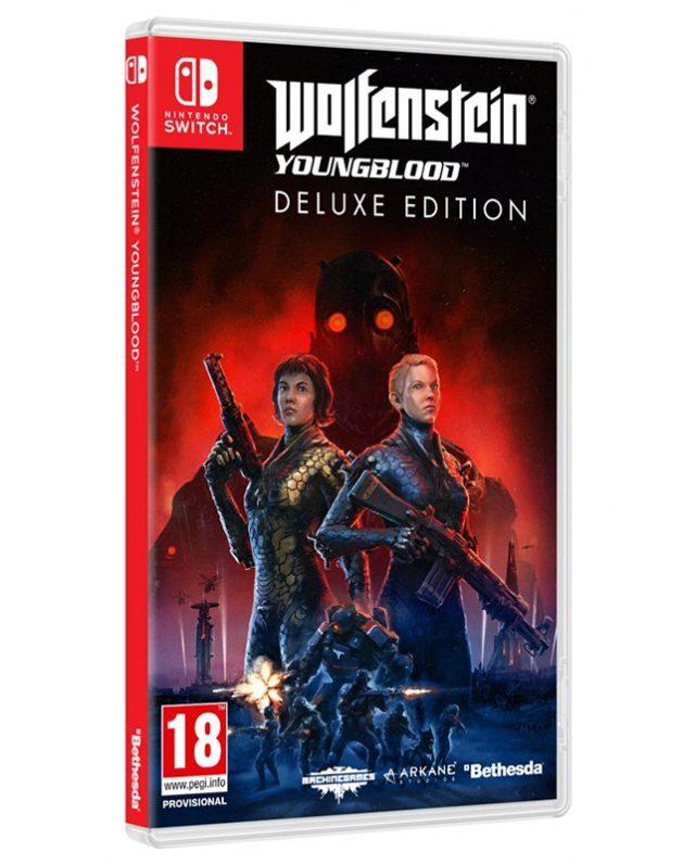 WOLFENSTEIN THE YOUNGBLOOD Deluxe Edition Switch