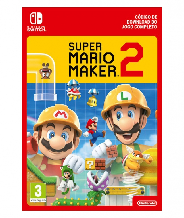 SUPER MARIO MAKER 2 (Nintendo Digital) Switch