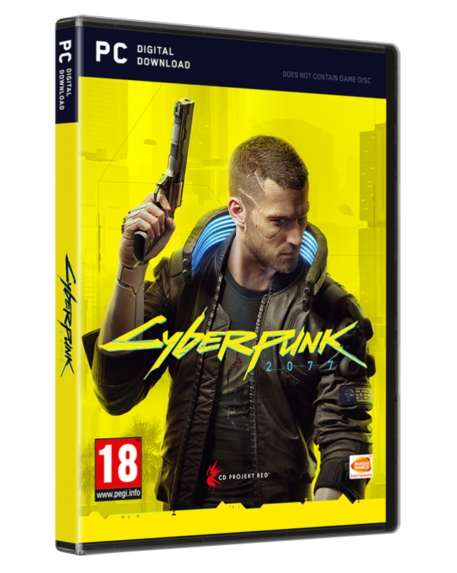CYBERPUNK 2077 Day One Edition  (Oferta Porta-Chaves) PC