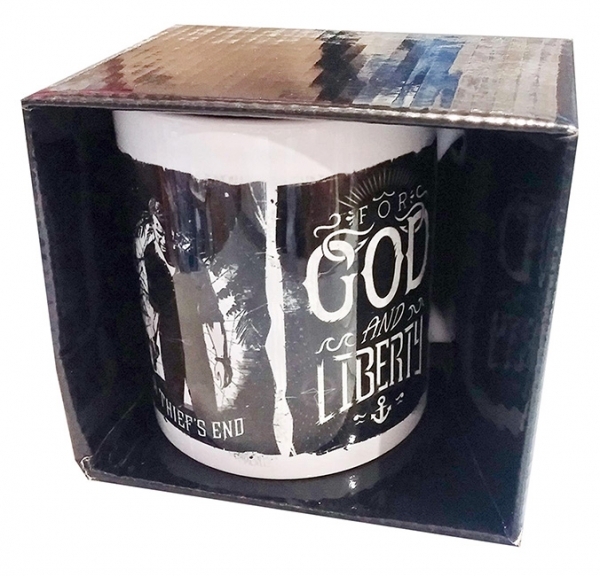 Caneca UNCHARTED For God and Liberty