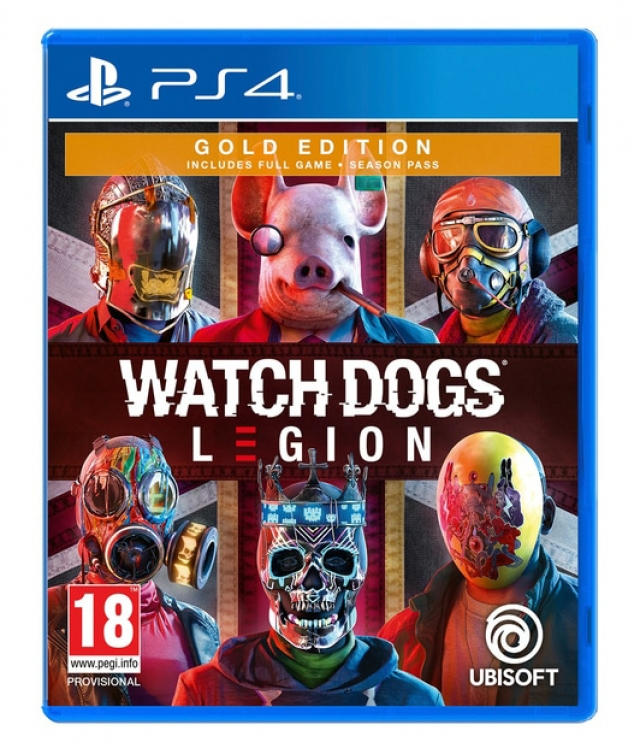 WATCH DOGS LEGION Gold Edition (Oferta DLC) PS4