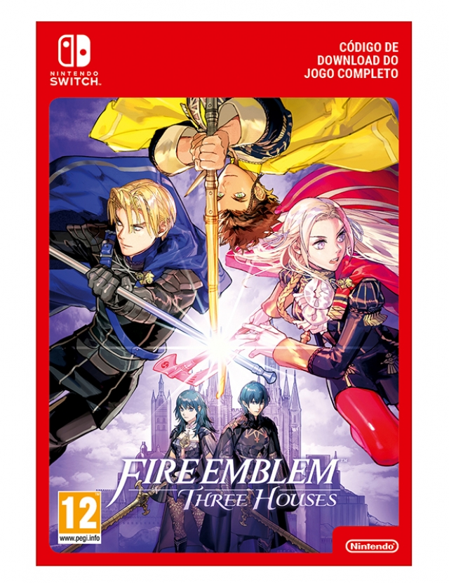 FIRE EMBLEM THREE HOUSES (Nintendo Digital) Switch