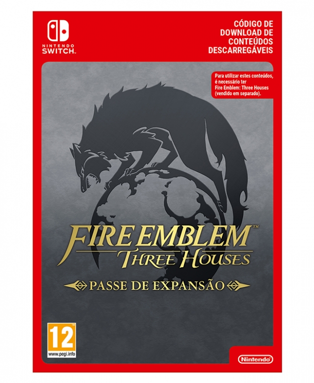 FIRE EMBLEM THREE HOUSES Passe de Expansão (Nintendo Digital) Switch