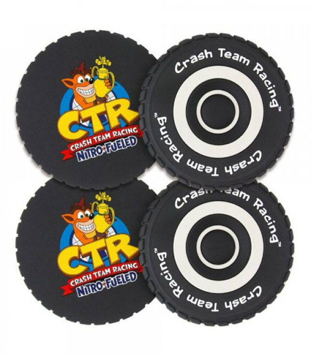 BASES DE COPOS CRASH TEAM RACING (Pneus x4)