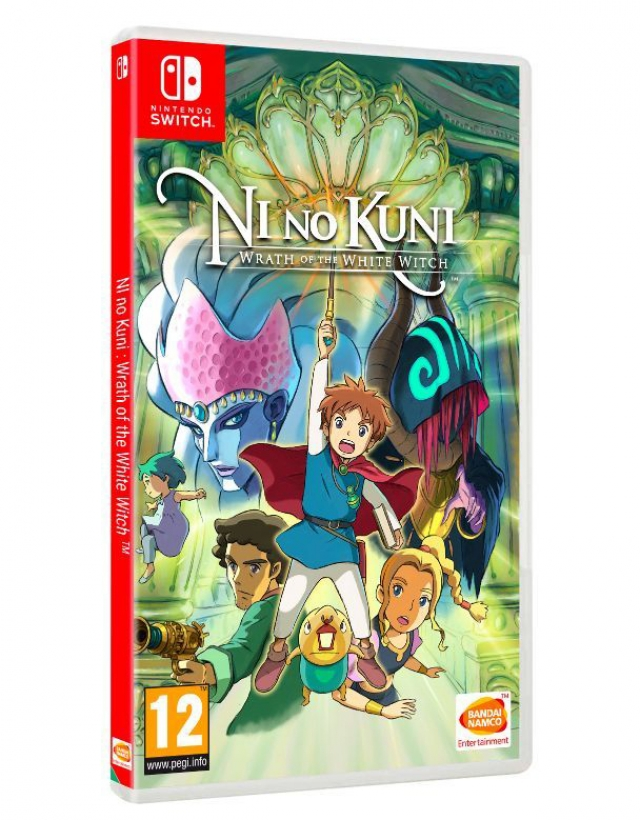 NI NO KUNI WRATH OF THE WHITE WITCH Switch